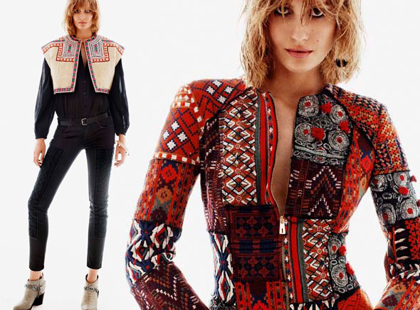 , H&M Femme Printemps Ete 2013 : Un Lookbook Rock et Bohème