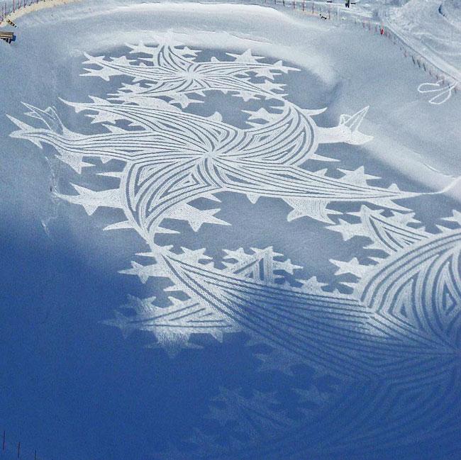 , Simon Beck : L'Incroyable Artiste des Neiges