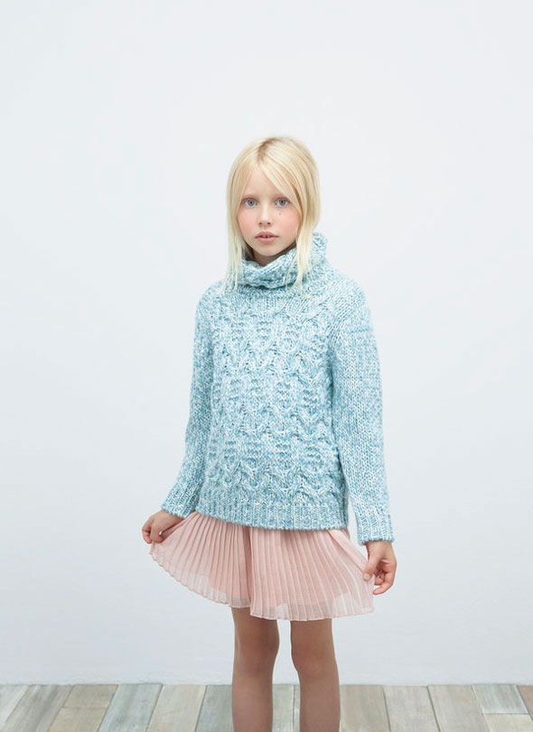 Zara Kids Novembre 2012 : Lookbook Enfants