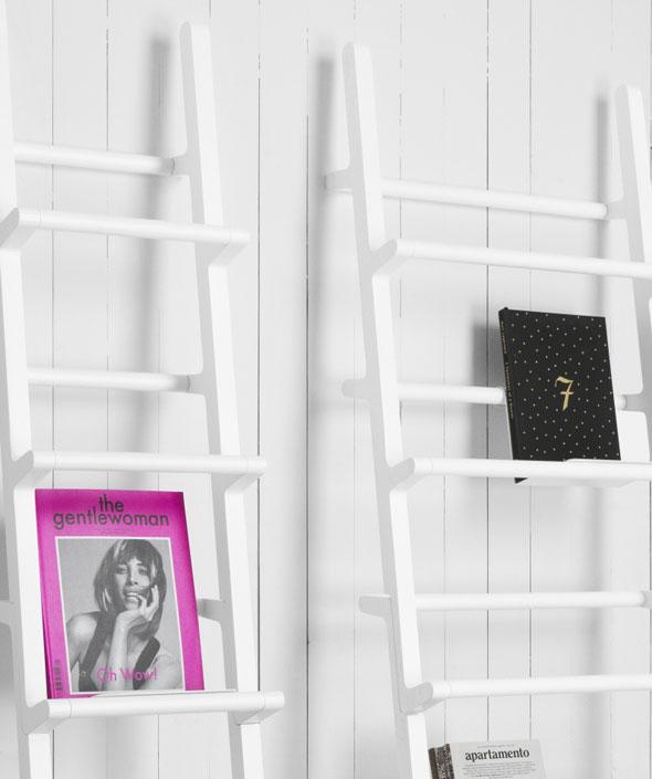 , One Nordic Verso Shelf par Mikko Halonen : Une Échelle Bibliothèque