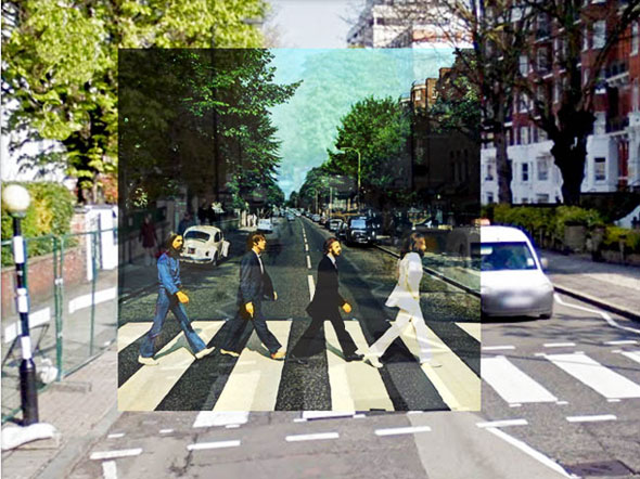 2 PopSpots Sync Bob Egan album art locations PopSpots NYC par Bob Egan : Photo de Couvertures dAlbums Localisées