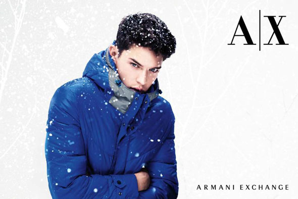 3 AX Armani Exchange FW Hiver 2012 2013 Campagne AX Armani Exchange Hiver 2012 2013