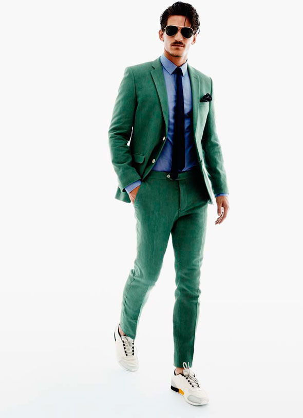 Lookbook H&M Homme Printemps Ete 2013 : Les Couleurs de l'Ete