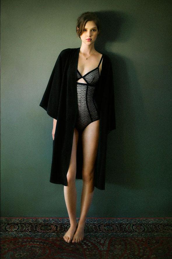Oysho Lingerie - Lookbook Hiver 2012