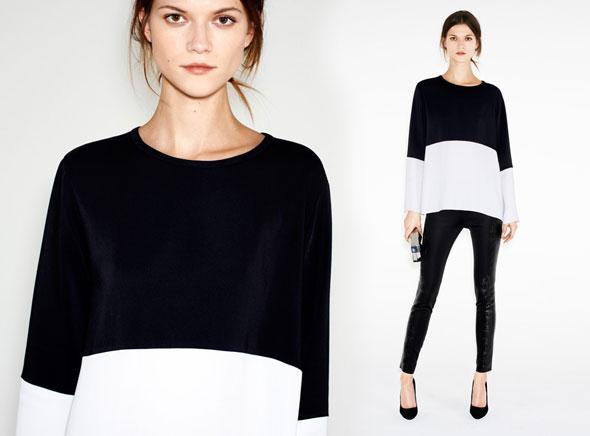 Zara Femmes Lookbook Décembre 2012