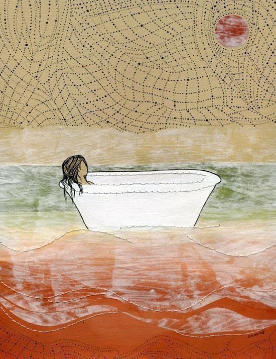 Dan-Ah Kim Illustrations : Rêves et Poesie d'Ailleurs