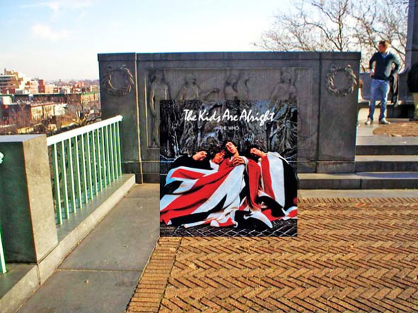 4 PopSpots Sync Bob Egan album art locations PopSpots NYC par Bob Egan : Photo de Couvertures dAlbums Localisées