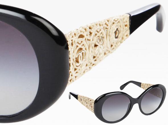 71d2ec7f2fd75 Collection Chanel Bijou   Lunettes de Soleil en Dentelle - MaxiTendance