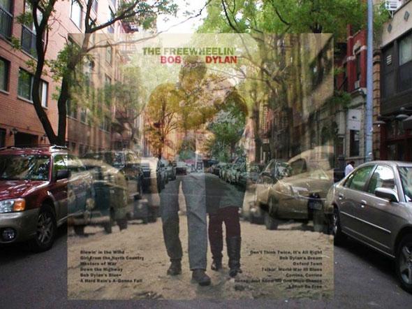 5 PopSpots Sync Bob Egan album art locations PopSpots NYC par Bob Egan : Photo de Couvertures dAlbums Localisées