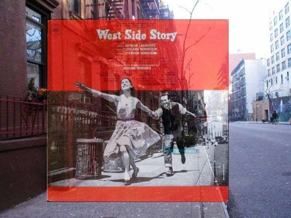 6 PopSpots Sync Bob Egan album art locations PopSpots NYC par Bob Egan : Photo de Couvertures dAlbums Localisées