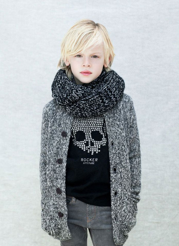 Zara Kids Novembre 2012 - Lookbook Enfants