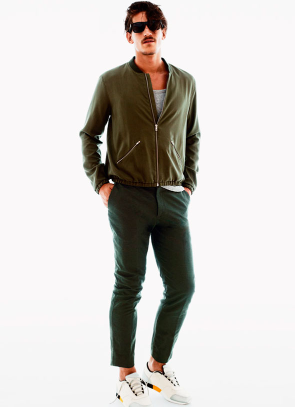 7 lookbook hm men homme ss ete 2013 Lookbook H&M Homme Printemps Ete 2013 : Les Couleurs de lEté