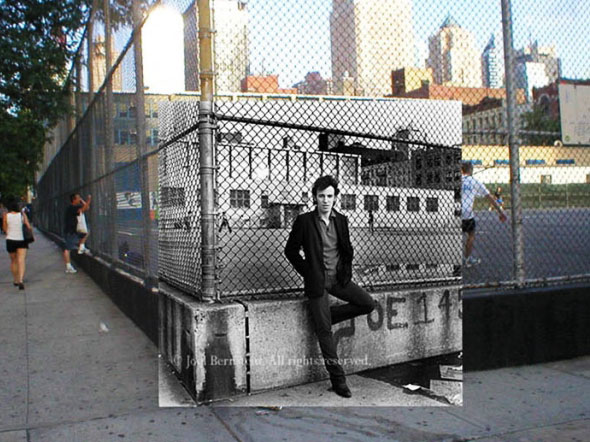 8 PopSpots Sync Bob Egan album art locations PopSpots NYC par Bob Egan : Photo de Couvertures dAlbums Localisées