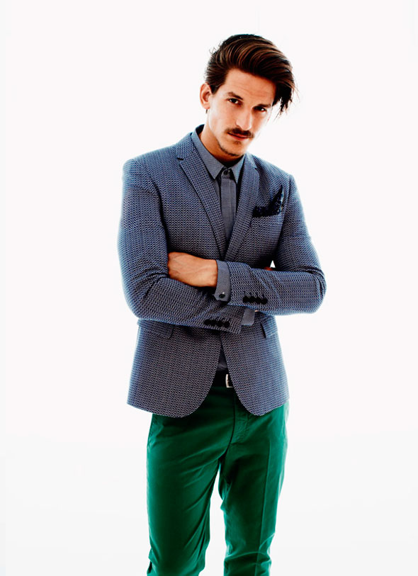 8 lookbook hm men homme ss ete 2013 Lookbook H&M Homme Printemps Ete 2013 : Les Couleurs de lEté