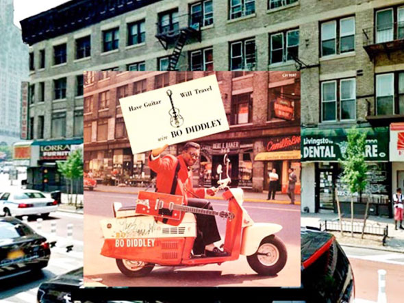9 PopSpots Sync Bob Egan album art locations PopSpots NYC par Bob Egan : Photo de Couvertures dAlbums Localisées