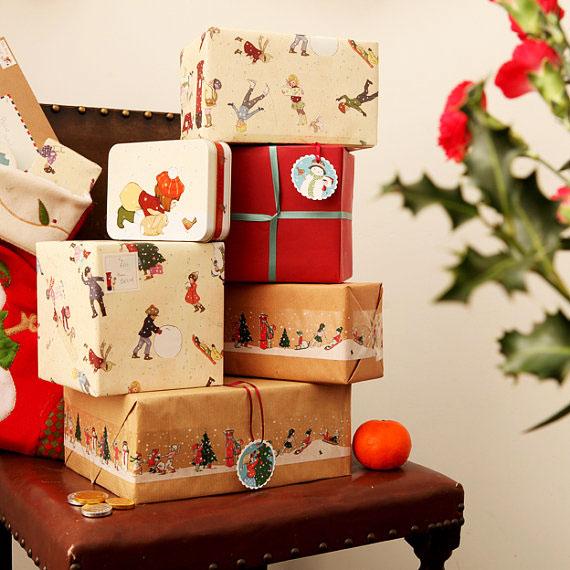 , Belle and Boo : De Beaux Papiers Cadeaux en Fête