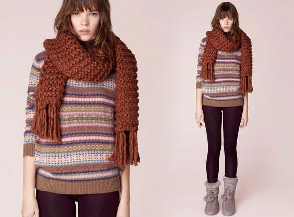 , Lookbook Oysho Homewear 2012 : Cocooning Felin