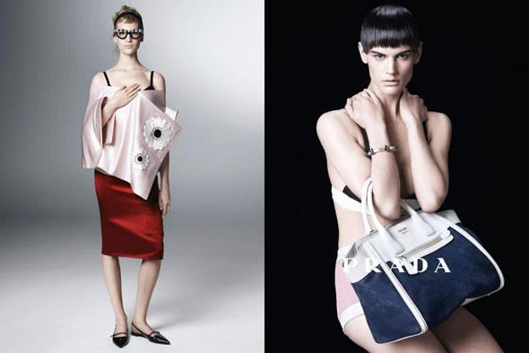 , Prada Femmes Printemps Ete 2013 : Une Campagne Cosplay