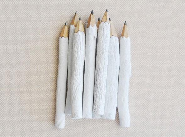 , Inkkit : Crayons en Bois Recyclé Peints à la Main