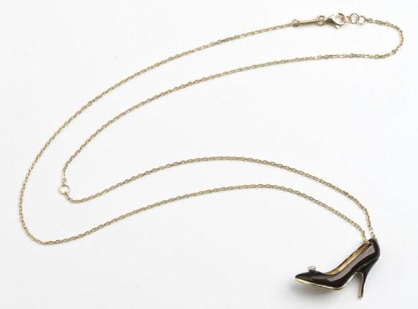, Salvatore Ferragamo Miniature Preziose : Mini Chaussures Pendentifs