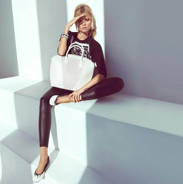 , Lookbook H&M Printemps 2013 avec Magdalena Frackowiak