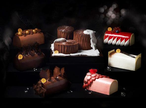 , Buches de Noel Pierre Hermé Paris en Chocolat et Macarons (video)