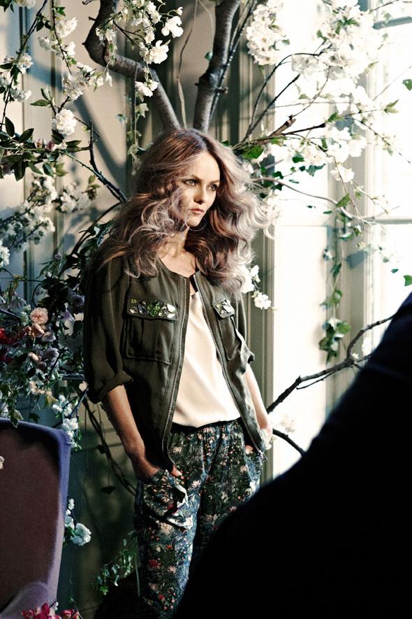 , Vanessa Paradis pour la Collection Conscious H&M
