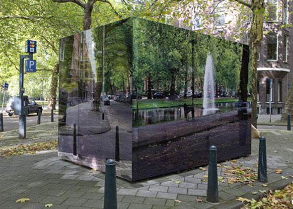 , City Camouflage Project par Roeland Otten : L'Art de Masquer le Mobilier Urbain