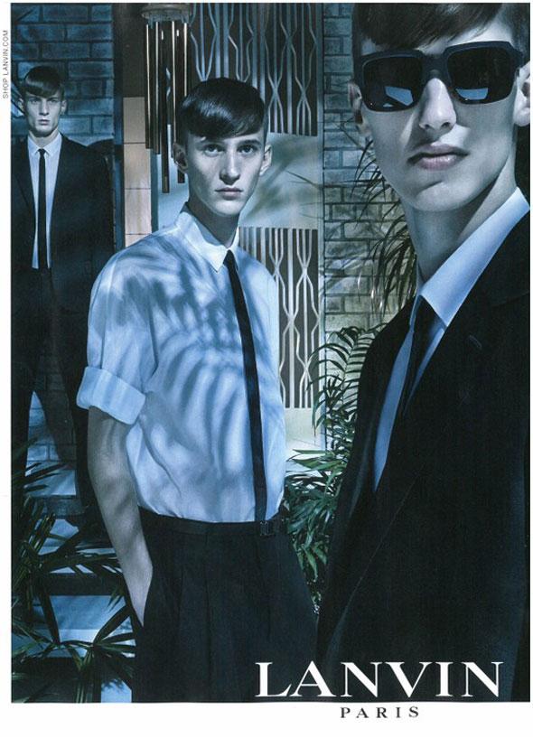 , Lanvin Homme Printemps Ete 2013 par Steven Meisel (Aperçu)