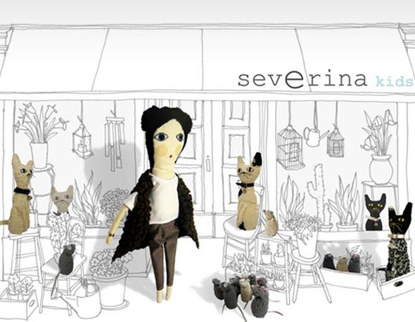 , Doudous Severina Kids : Chats et Souris en Laine Recyclés
