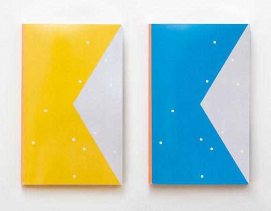 , Agendas Graphiques Color Block par Julia Kostreva