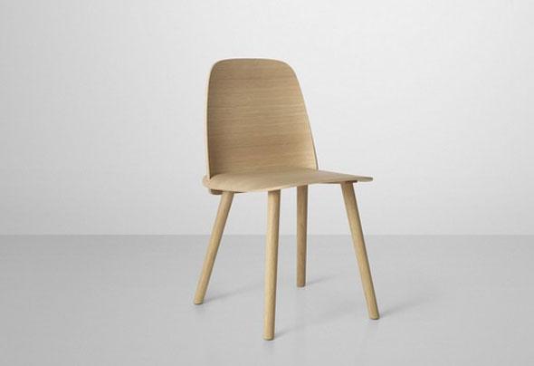 chaise design bois scandinave. Black Bedroom Furniture Sets. Home Design Ideas