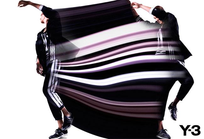 , Adidas Y3 Printemps Ete 2013 : Une Campagne Stroboscopique