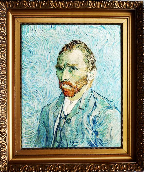 , Veritable Autoportrait de Vincent Van Gogh par Tadao Cern (video)