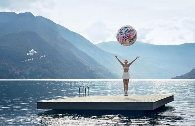 , Hermes Paris Printemps Eté 2013 : Une Campagne au Lac de Côme