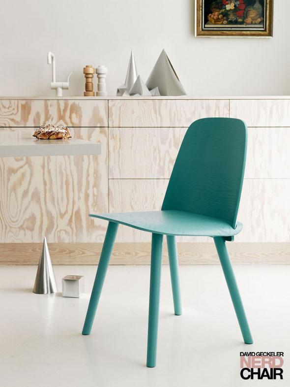 , Chaise Nerd Design Scandinave par David Geckeler