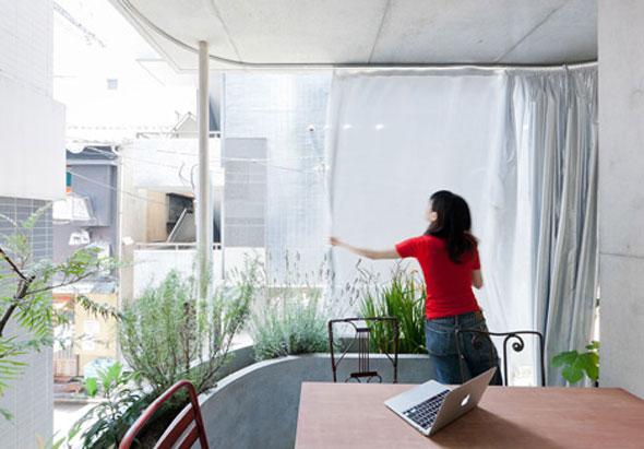 Maison et Jardin par l'Architecte Ryue Nishizawa Tokyo