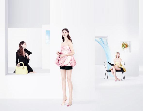 , Dior Tableaux de Mode Willy Vanderperre Printemps Eté 2013