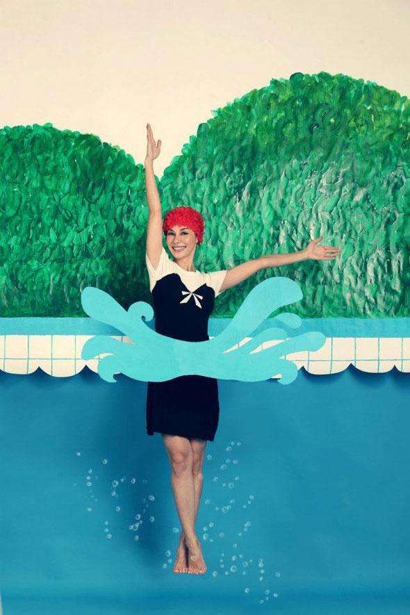 , Hansel Printemps Eté 2013 : Campagne Sync or Swim