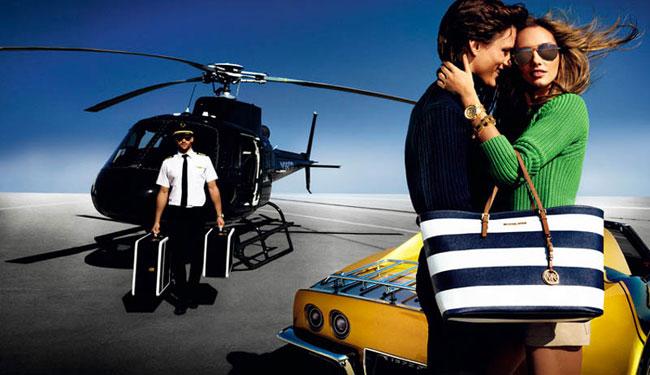 , Campagne Michael Kors Printemps Ete 2013 : Luxe et Années 70