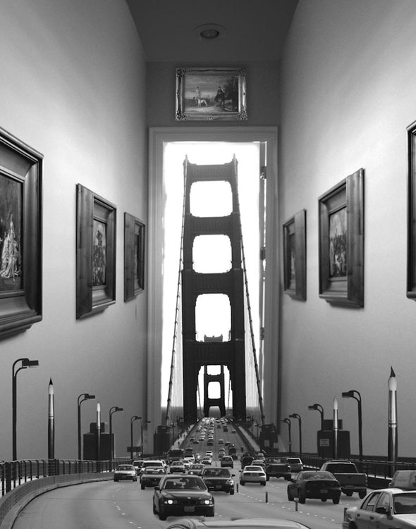 thomas barbey, Thomas Barbey Photographie : Spectaculaires Photomontages Surréalistes