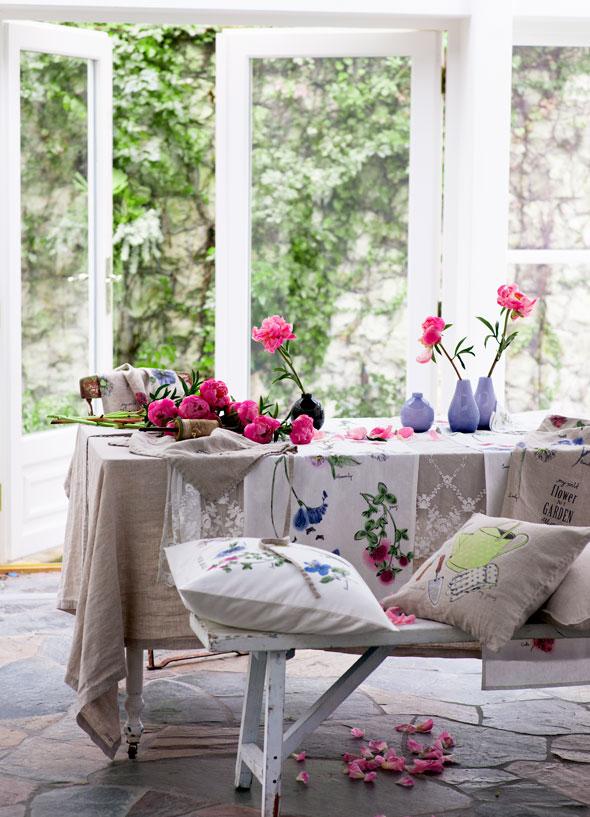 , H&M Home Mi Saison 2013 : La Maison est en Fleurs