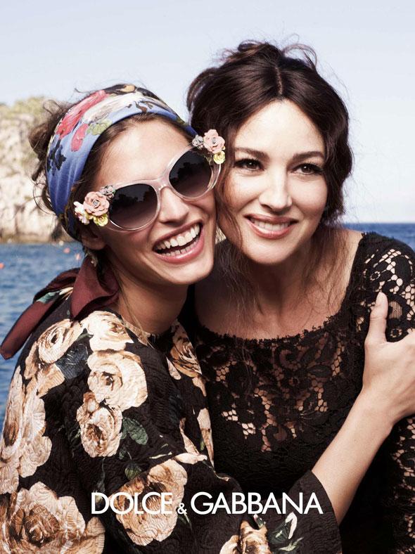 3c05f5f0ca6b86 Lunettes de Soleil Dolce   Gabbana Ete 2013 Retour en Italie ...