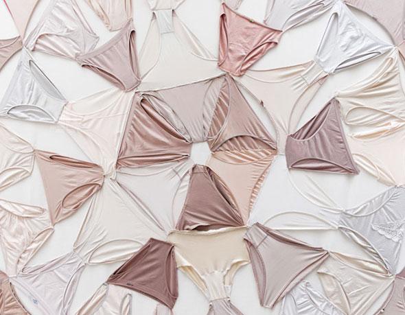 Underwear Mandalas par Pilar Albarracin - Kaleidoscope de Slip et String