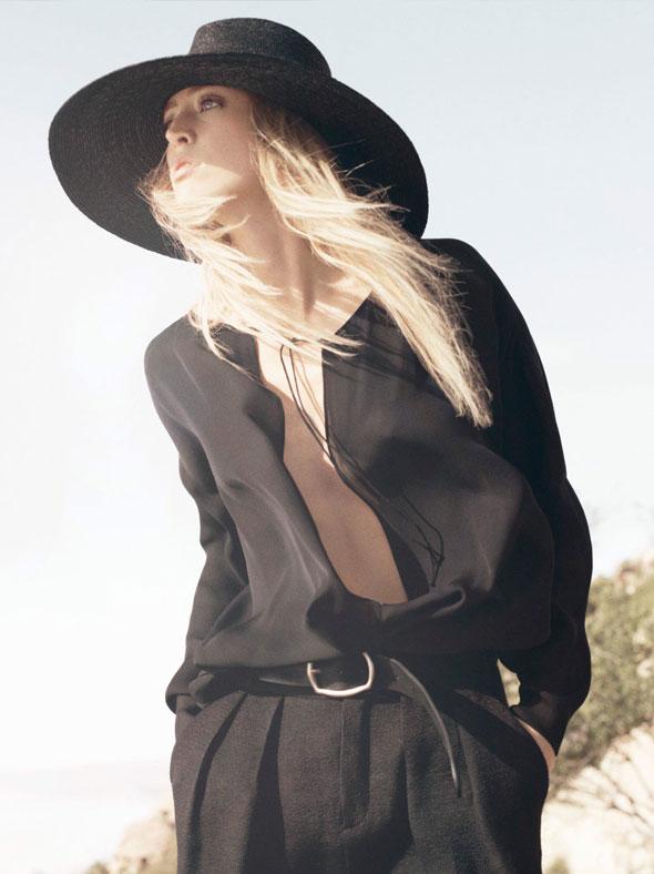 , Zara Femme Printemps 2013 avec Raquel Zimmermann (Video)