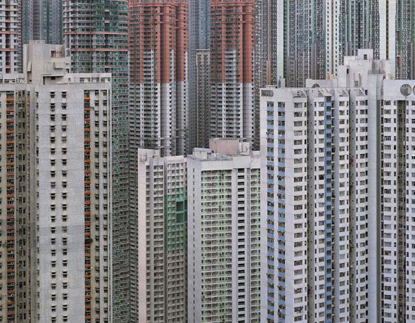 , Architecture of Density par Michael Wolf : Tours Bétonnées en Photographie