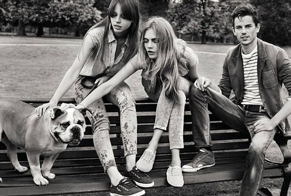 10 pepe jeans london ss ete 2013 Campagne Pepe Jeans London Printemps Ete 2013 avec Cara Delevingne