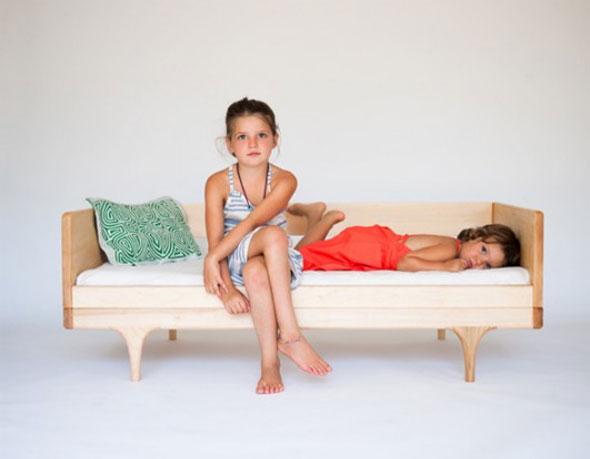 , Lit Divan Enfant par Kalon Studios : Une Caravan Eco Design