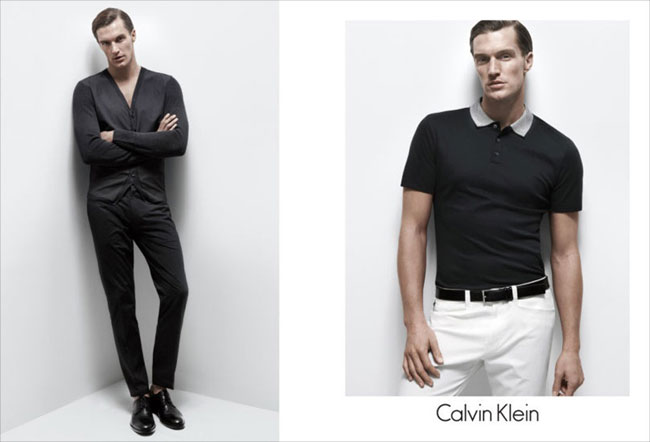 , Campagne Calvin Klein White Label Printemps Ete 2013