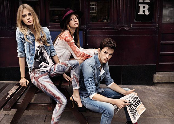 2 pepe jeans london ss ete 2013 Campagne Pepe Jeans London Printemps Ete 2013 avec Cara Delevingne